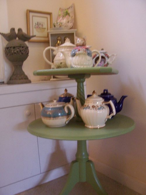 Favorite teapots from set to a Tea private collections