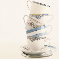 Tea cups mix or match