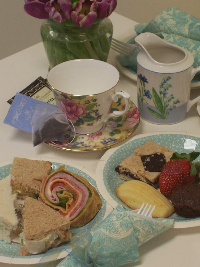 Office tea party